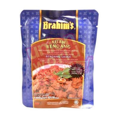 Brahims Curry Sauce Rendang 180g