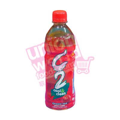 C2 Cool & Clean Green Tea Apple 500ml
