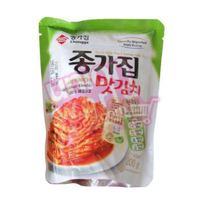 Chongga Mat Kimchi Vacuum Pack 200g