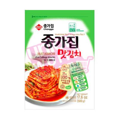 Chongga Mat Kimchi Vacuum Pack 500g