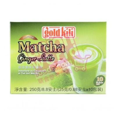 Gold Kili Matcha Latte 10x25g