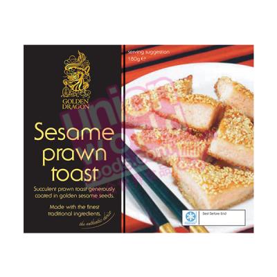 Golden Dragon Sesame Prawn Toast 200g