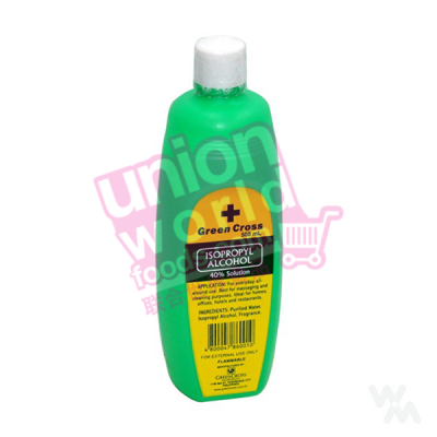 Green Cross Isopropyl Alcohol 40% 500ml
