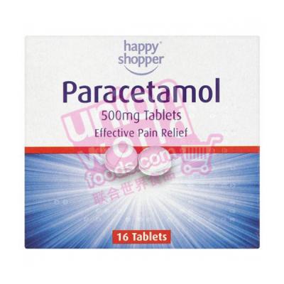 Happy Shopper Paracetamol Tablets 16Pcs