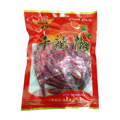 Honor Dried Chillis 50g