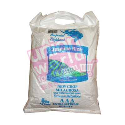 Imperial Elephant Jasmine Milagrosa Rice 5kg
