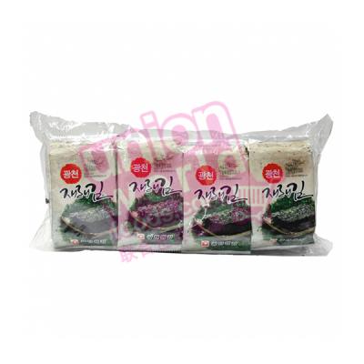 Kwangcheon Seasoned Roasted Seaweed 8x5g