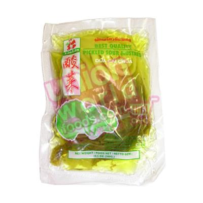 Lin Lin Pickled Sour Mustard & Chilli 300g