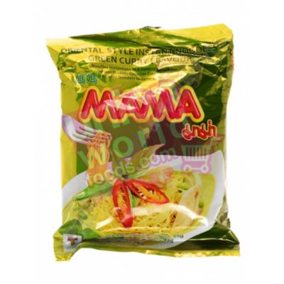 Mama Noodle Green Curry 30x55g