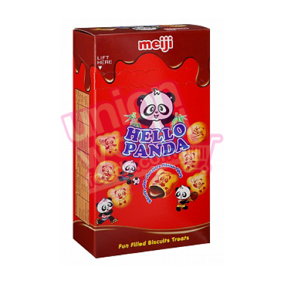 Meiji Hello Panda Mini Chocolate Biscuits 25g