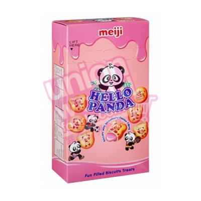 Meiji Hello Panda Strawberry Biscuits 25g