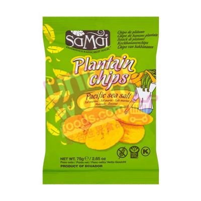 Samai Plaintain Chips Salted 75g