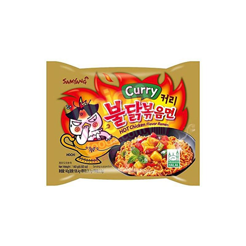 Samyang Hot Chicken Curry Ramen 140g