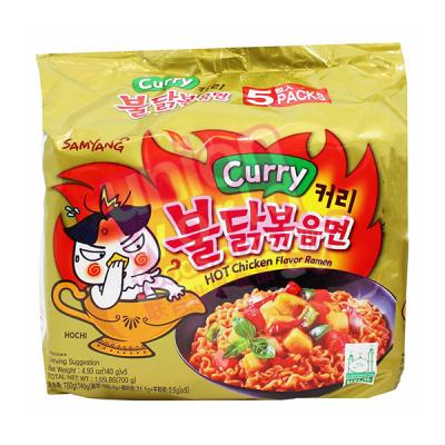 Samyang Hot Chicken Curry Ramen 5x140g