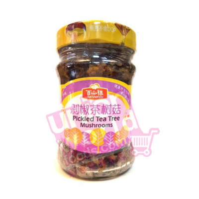 Bai Shan Zu Pickled Tea Tree Mushrooms 190g