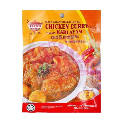 Tean Gourmet Chicken Curry Paste 200g