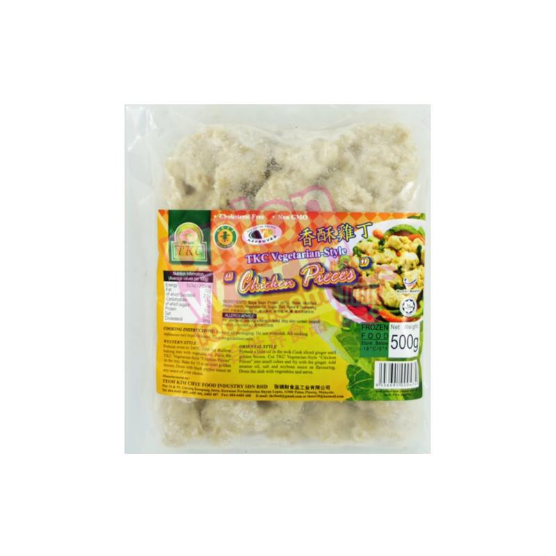 TKC Vegetarian Style Chicken Pieces 500g