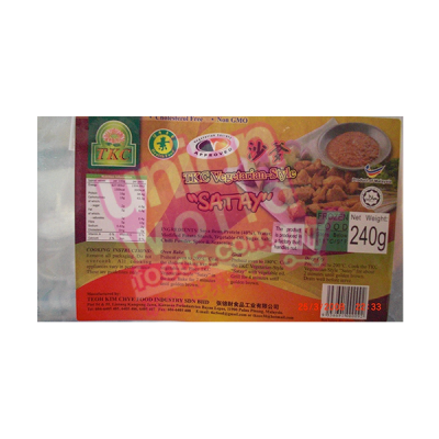 TKC Vegetarian Satay Sticks 240g