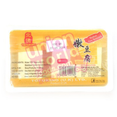 Tofu King Medium Firm Tofu 600g