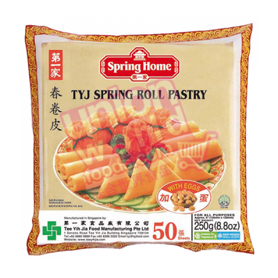 """TYJ Spring Roll Pastry 5"""" 50 Sheets"""