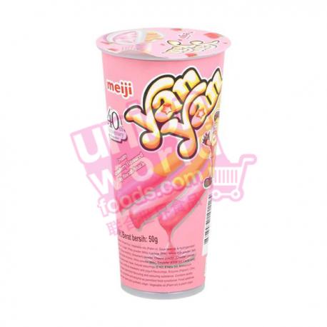 Yan Yan Strawberry Snack 50g