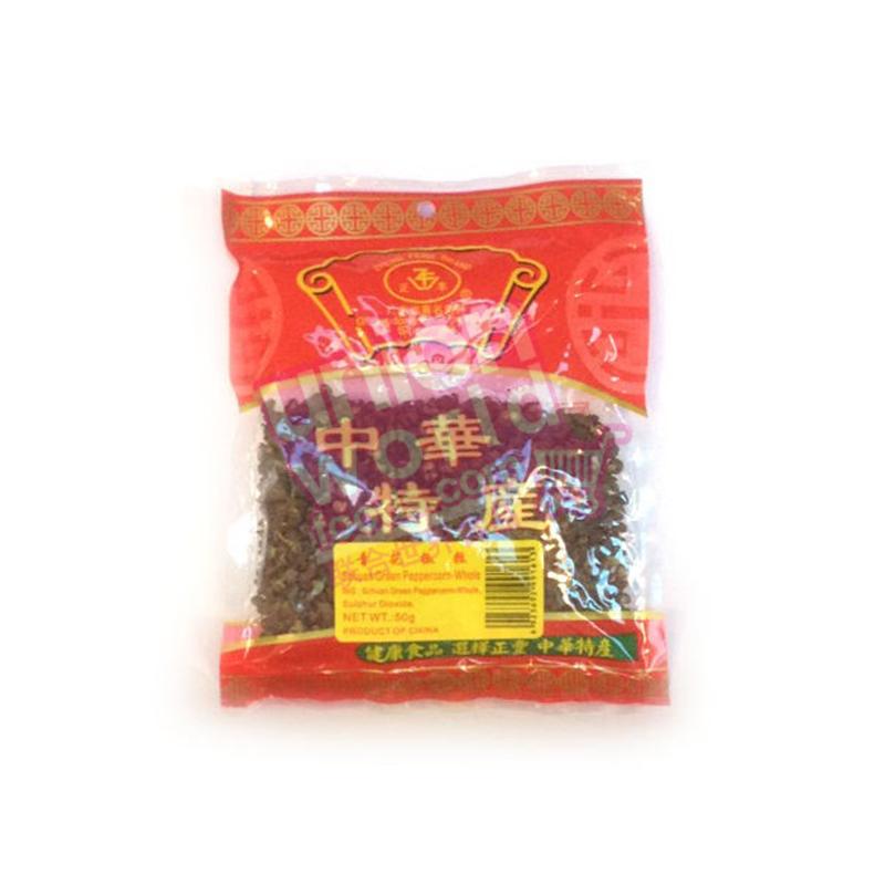 Zheng Feng Green Sichuan Pepper 50g