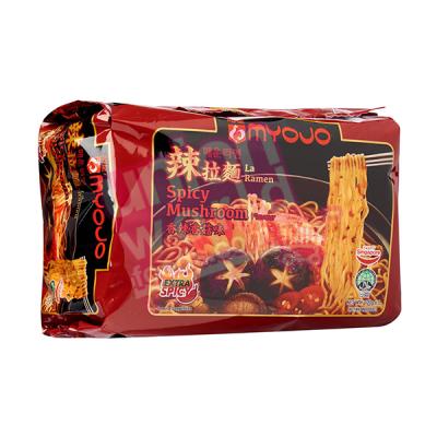 Myojo Spicy Mushroom Noodles 5x120g