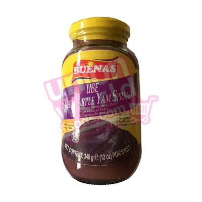 Buenas Ube Purple Yam Spread 340g
