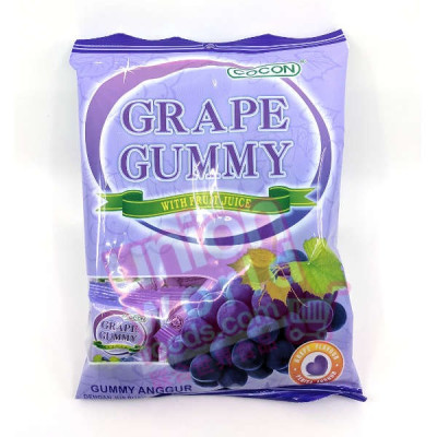 Cocon Gummy Jelly Sweets Grape 100g