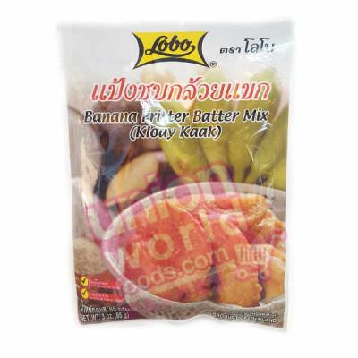 Lobo Banana Fritter Mix 85g