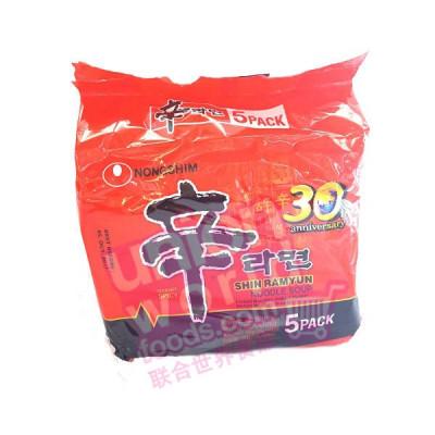 NS Noodle Hot & Spi 120g x 5