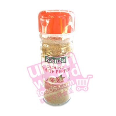 Kania Ground White Pepper 50g