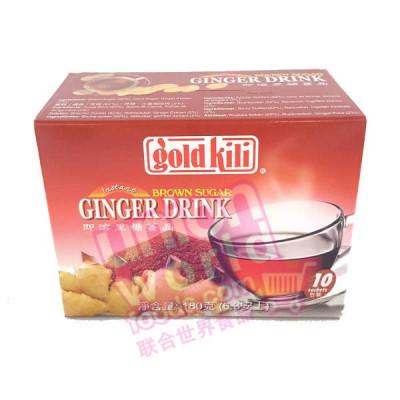 Gold Kili Brown Sugar Ginger Drink 180g
