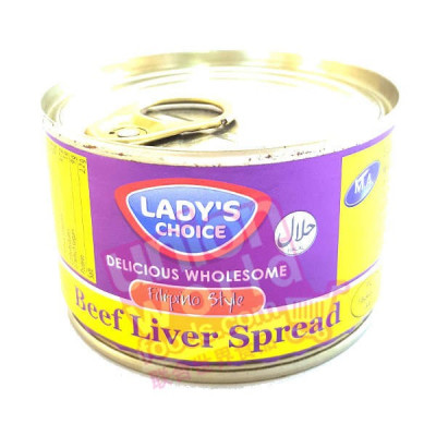Ladys Choice Beef Liver Spread 165g